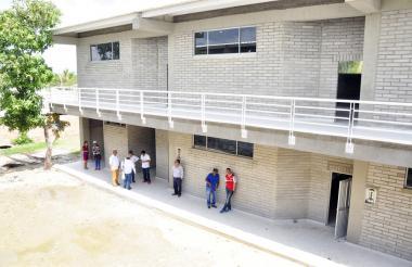 Colegio John F. Kennedy de Palmar de Varela, inaugurado el año pasado.