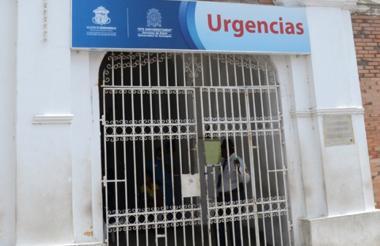 La mujer fue llevada al Hospital de Barranquilla.