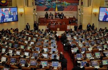Plenaria de la Cámara de Representantes.