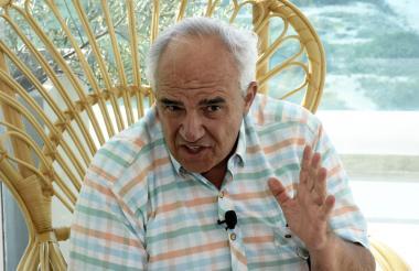 El expresidente Ernesto Samper Pizano, secretario general de Unasur.