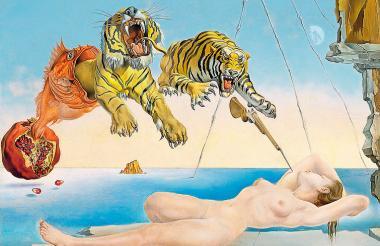 Cuadro de Salvador Dalí.
