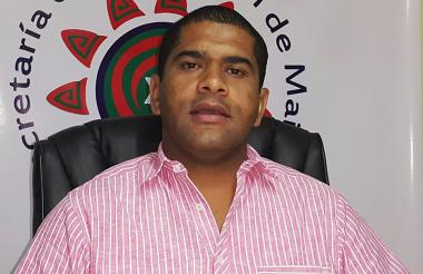 Olves Choles, secretario de Educación de Maicao.