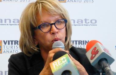 Cecilia Álvarez-Correa, exministra de Transporte.
