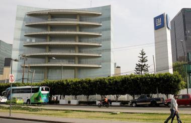Sede del edficio de la General Motors en Ciudad de México.