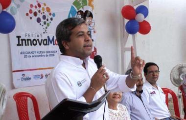 Eduardo Arteta, secretario de Educación.