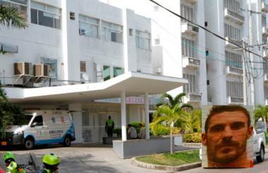 Christopher Lance Janigan murió en la Unidad de Cuidados Intensivos (UCI) del Hospital de Bocagrande.