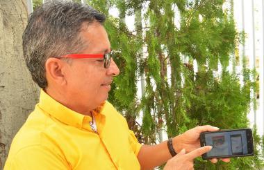 Orlando Perea Campo, uno de los creadores de la 'app'.