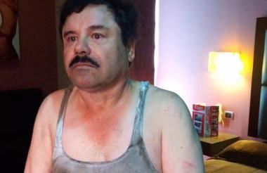 El narcotraficante mexicano Joaquín 'El Chapo' Guzmán.