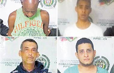 Atilano Barrios Villero, Duván Cabrera Tapiero, Julio Martínez Martínez Y Nilson Olivero Pertuz.