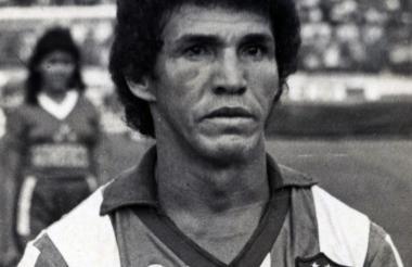 Oscar Bolaño en sus días como jugador del Junior.