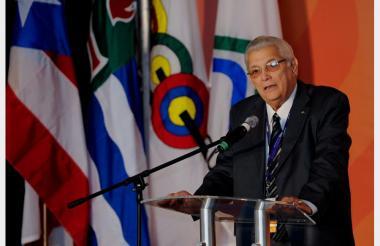 Héctor Cardona, presidente de la Organización Deportiva Centroamericana y del Caribe.