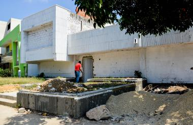 Esta es la vivienda que, según Miguel Buitrago, hoy es invadida. Está localizada en el norte de Barranquilla.