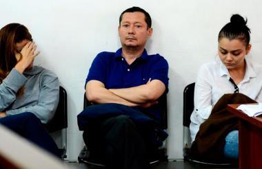 Kimberly Hutchinson, su tío Eduardo Vargas Gómez y Ruddy Rodríguez Arias, tres de los procesados en las millonarias estafas de Global Brokers.