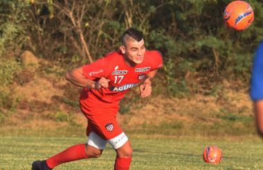 Michael Rangel comandará el ataque del Junior mañana ante La Equidad, en Bogotá.