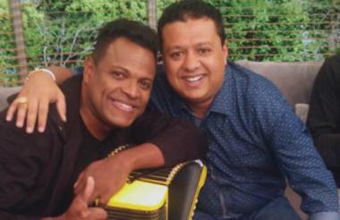 Omar Geles y Rafael Santos.