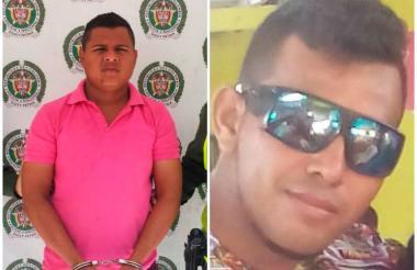 Álvaro Javier Manga Durán, de 24 años y Víctor Alfonso Ahumada Carrillo.