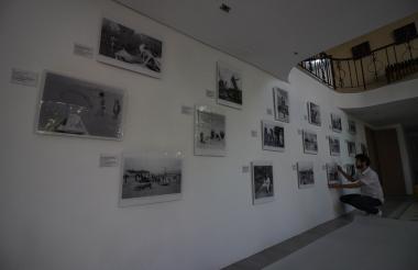 Giulliano Cavalli, en las instalaciones de la Fundación Cámara Oscura.