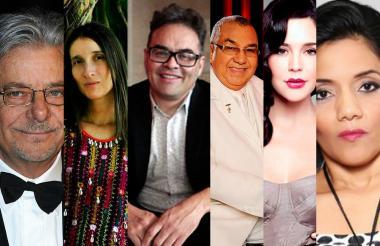 Alci Acosta, Andrea Echeverri, Diana Rolando, Joselo Rangel, Flora Martínez y el actor Giancarlo Giannini son algunos de los invitados especiales.