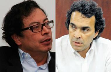 Gustavo Petro y Sergio Fajardo lideran la intención de voto.