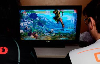 Gamers en torneo en Barranquilla.