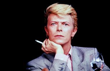 El artista británico David Bowie.