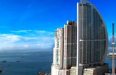 Imagen de la Trump Tower, en Panamá.