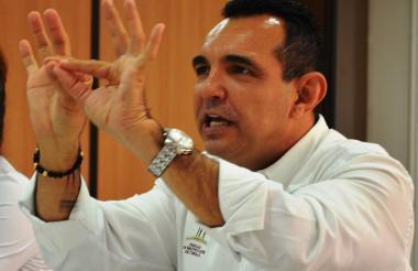 Álvaro Tapia, director de la URT en Sucre y Córdoba.