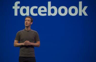 Mark Zuckerberg durante un evento de Facebook Messenger.
