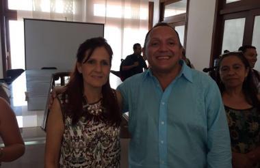 El exalcalde de Fundación y actual director del hospital de Aracataca, en el mismo departamento, Iván David de León Villa.