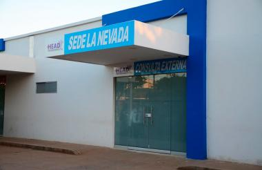 Sede de la Nevada del Hospital Eduardo Arredondo Daza.