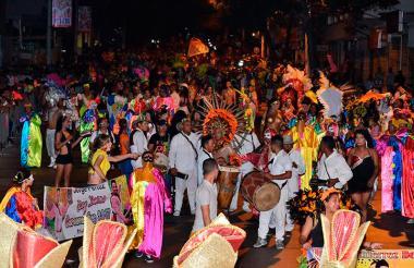 Imagen de la Guacherna Gay realizada el pasado sábado.