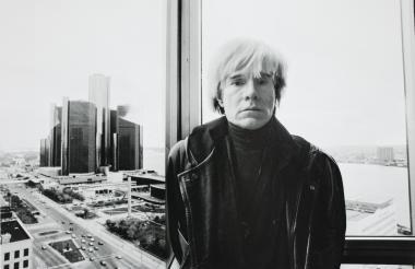 Andy Warhol,ícono del Pop Art.