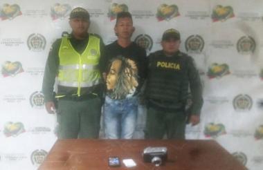 El capturado tiene 18 años de edad.