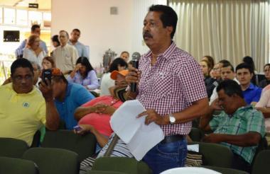 Carlos César Cabarcas Mejía, quien es señalado de peculado por apropiación.