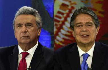 Moreno y Lasso estarán en un debate por televisión.