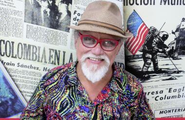 Darío Moreu, director de Ay Macondo, durante su visita a EL HERALDO.