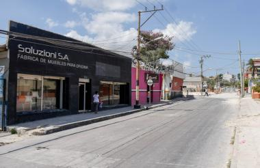 Locales de la carrera 50 entre calles 53B y 53.