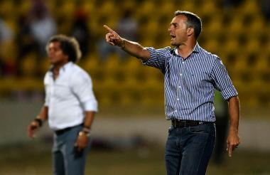 Pablo Lavallén, técnico del Atlético Tucumán.