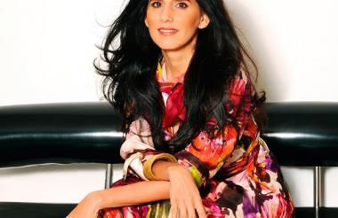 La diseñadora cartagenera Beatriz Camacho.