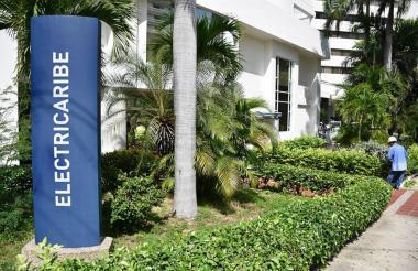 Una de las oficinas de atención al cliente de Electricaribe, en Barranquilla.