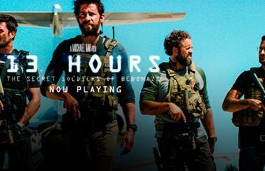 Película '13 Hours: The Secret Soldiers of Benghazi'.