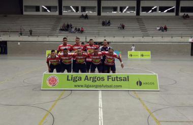 El equipo Independiente Barranquilla en la Liga Argos Futsal versión 2017.
