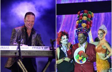 Chelito De Castro y su orquesta Joe All Stars le rindieron un sentido homenaje al intérprete de la música caribeña colombiana Joe Arroyo.  Carla Celia, directora de Carnaval de Barranquilla; el merenguero Wilfrido Vargas y la reina del Carnaval Fefy Mendoza, durante el homenaje.