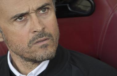 Luis Enrique dio a conocer la noticia en la rueda de prensa tras el triunfo 6-1 sobre Sporting Gijón.