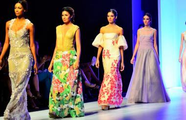 Los diseños de Amalín de Hazbún brillaron en Plataforma K 2016.