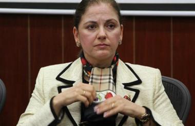 María del Rosario Guerra, senadora uribista.
