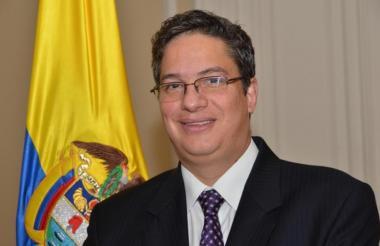 El director de la Dian, Santiago Rojas Arroyo.