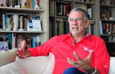 Eduardo Verano, gobernado del Atlántico.
