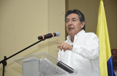 El fiscal Néstor Humberto Martínez durante su intervención.