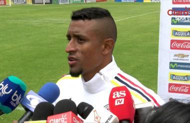 Farid Díaz se integró este domingo a la Selección Colombia tras la victoria de Nacional 3-1 sobre Medellín.